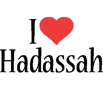 Hadassah i-love logo