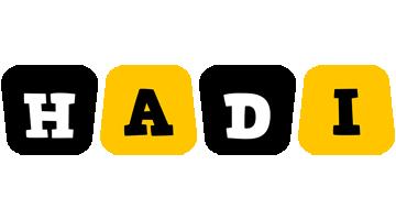 Hadi boots logo