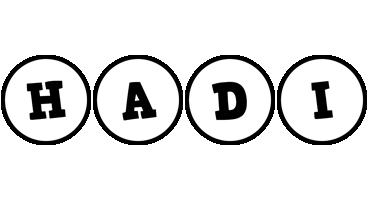 Hadi handy logo