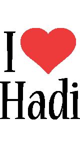 Hadi i-love logo