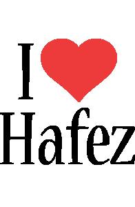 Hafez i-love logo