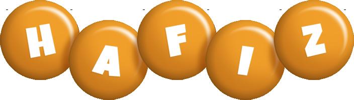 Hafiz candy-orange logo