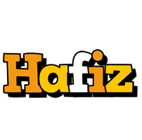 Hafiz cartoon logo