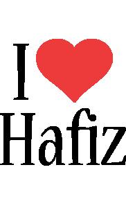 Hafiz i-love logo