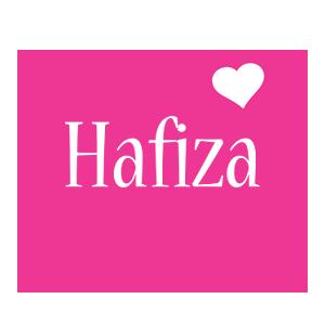 Hafiza love-heart logo
