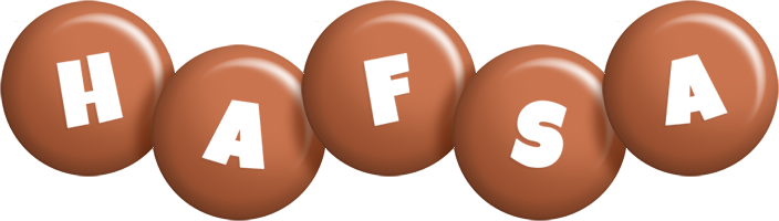 Hafsa candy-brown logo
