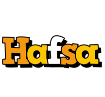 Hafsa cartoon logo