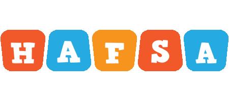 Hafsa comics logo