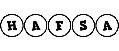 Hafsa handy logo