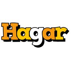 Hagar cartoon logo