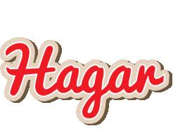 Hagar chocolate logo