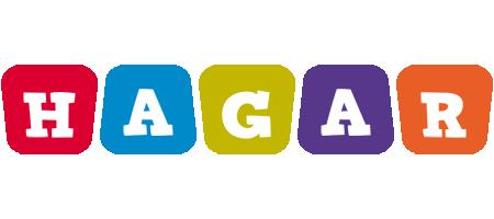 Hagar daycare logo