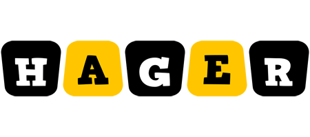 Hager boots logo