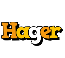Hager cartoon logo