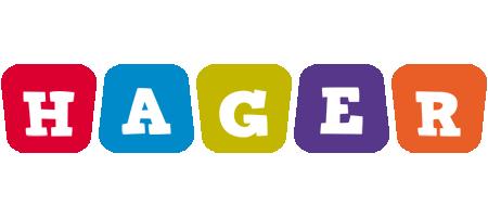 Hager daycare logo