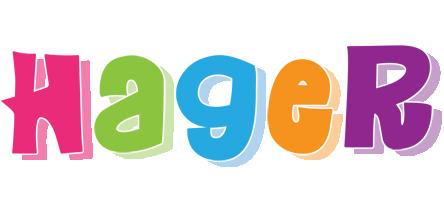 Hager friday logo