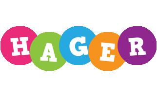 Hager friends logo