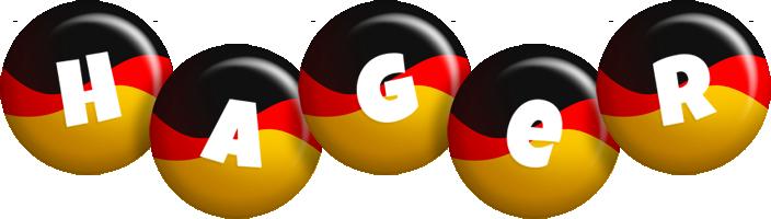 Hager german logo