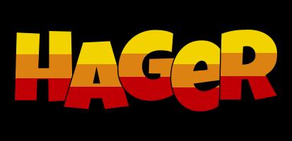 Hager jungle logo