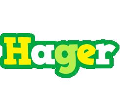 Hager soccer logo