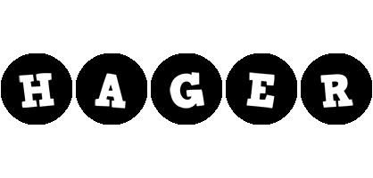 Hager tools logo