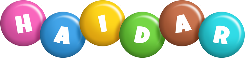Haidar candy logo