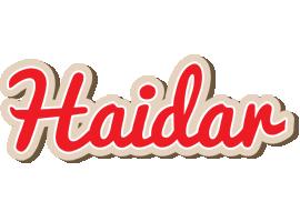 Haidar chocolate logo