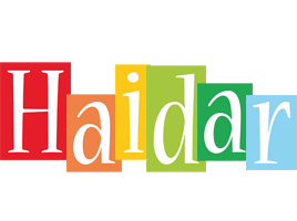 Haidar colors logo