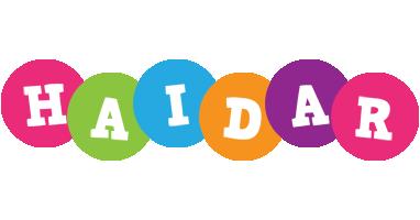 Haidar friends logo