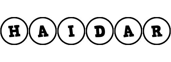 Haidar handy logo