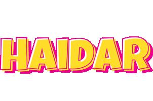 Haidar kaboom logo