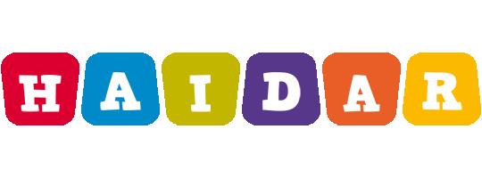 Haidar kiddo logo