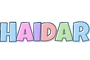 Haidar pastel logo