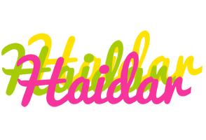 Haidar sweets logo