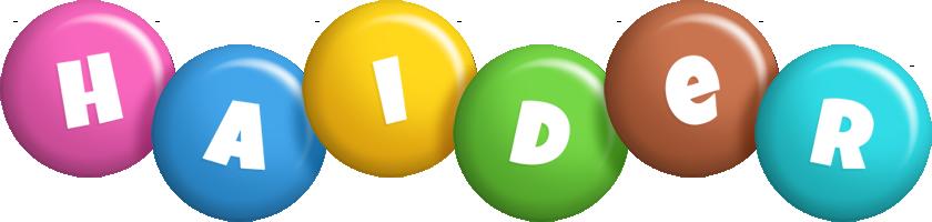 Haider candy logo