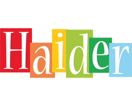 Haider colors logo