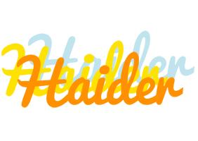 Haider energy logo