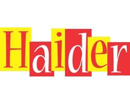 Haider errors logo