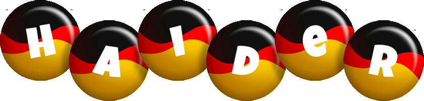 Haider german logo
