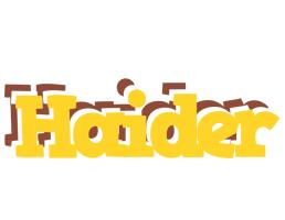 Haider hotcup logo