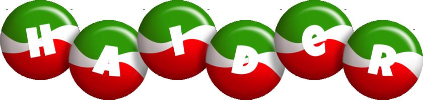 Haider italy logo