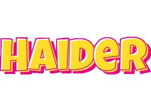 Haider kaboom logo