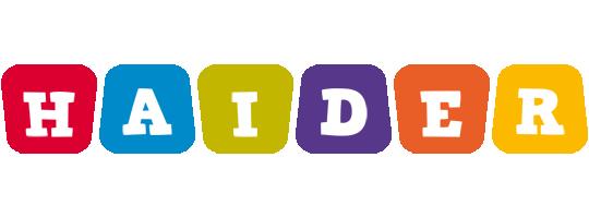 Haider kiddo logo