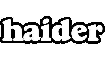 Haider panda logo