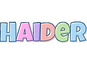 Haider pastel logo