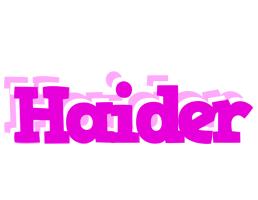 Haider rumba logo