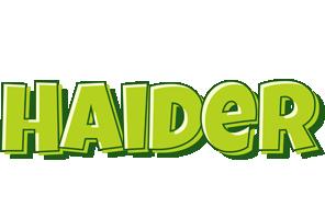 Haider summer logo