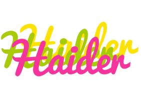 Haider sweets logo