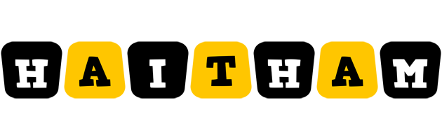Haitham boots logo