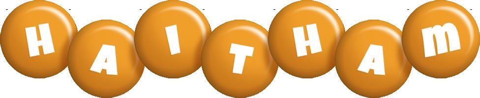Haitham candy-orange logo